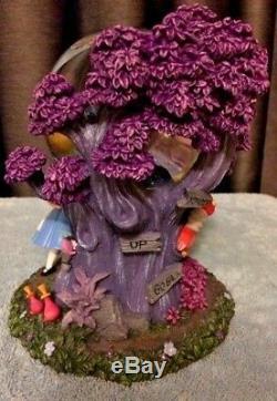 XMAS SALE! Disney Alice In Wonderland Cheshire Cat Musical Globe(light's up)